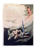 Europe a Prophecy 'Unwilling I look up', 1794 Art Print