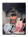 Europe a Prophecy; Famine, 1794 Art Print