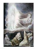 The Vision of Eliphaz, 1825 Art Print