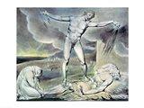 Illustrations of the Book of Job; Satan smiting Job with Sore Boils, 1825 Art Print