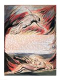 Jerusalem The Emanation of The Giant Albion; Then the Divine Hand Art Print