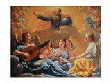 A Concert of Angels Art Print