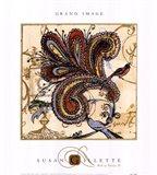 Bird Of Paisley II Art Print