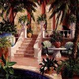 Hotel Lobby II Art Print