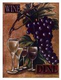 Wine and Dine I Art Print