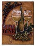 Wine and Dine II Art Print