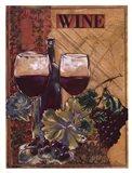 World Of Wine I Art Print