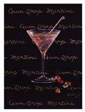 Gum Drop Martini Art Print