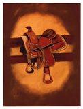 Roger's Saddle Art Print