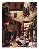 Piazza Art Print