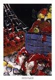 Ocean Harvest I Art Print