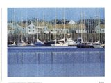Le Port De Plaisance Art Print