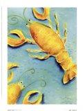 Lobster Twist Art Print