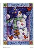Snowy Days Art Print