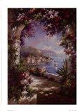 Floral Vista Art Print
