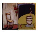 Chair IV Art Print