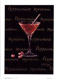 Peppermint Martini Art Print