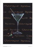 Choco-Mint Martini Art Print