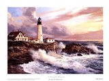 A Peaceful Horizon Art Print