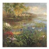 Village Pond Art Print