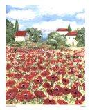 Poppy Field #1 Art Print