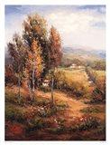 Valle Salerno Art Print