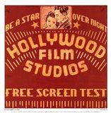 Hollywood Film Studios Art Print