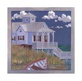 Nautical House Art Print