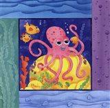 Seafriends-Octopus Art Print