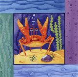 Seafriends-Crab Art Print