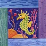 Seafriends-Seahorse Art Print