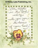 Take Delight In The Lord Art Print