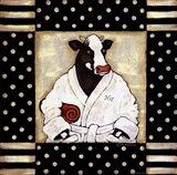 His Milk Bath Art Print