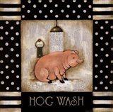 Hog Wash Art Print