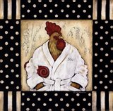 His Bird Bath Art Print