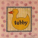 Tubby Art Print