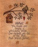Mother (bird) Art Print
