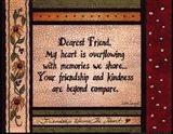 Dearest Friend Art Print