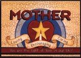 Mother (star) Art Print