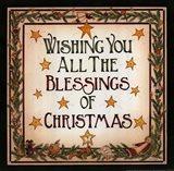 Blessings of Christmas Art Print