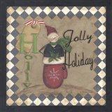 Holly Jolly Holiday Art Print