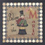Believe in the Magic Art Print