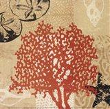 Coral Impressions IV Art Print