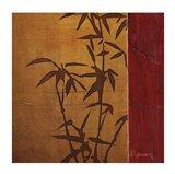 Modern Bamboo II Art Print