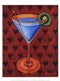 Martini Royale - Hearts Art Print