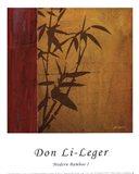 Modern Bamboo I Art Print