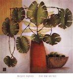 Olive Bowl And Vase Art Print
