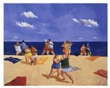 Tango Beach Art Print