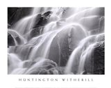 Waterfall, Yosemite Art Print