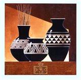 Patterns in Ebony II Art Print